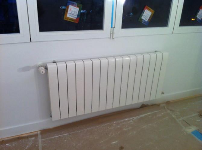 Montaje de radiadores