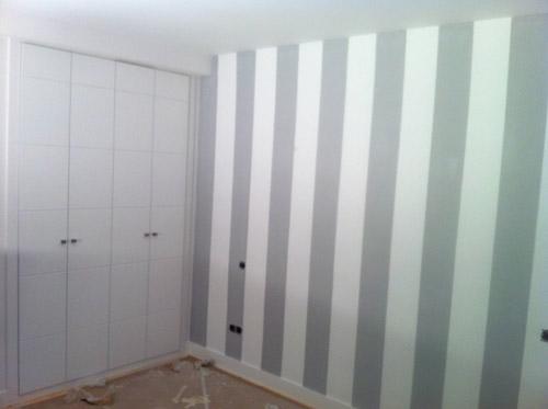 Se terminan los trabajos de pintura en la vivienda - Reforma integral piso madrid ...