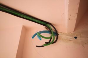 Tubos de Color para indicar el tipo de instalación. Instalación #gahecor #gewiss