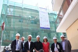 Visita de autoridades: Comunidad de Madrid, Emv y Ministerio de Fomento
