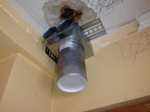 Se empiezan los trabajos de ventilación de #zennder