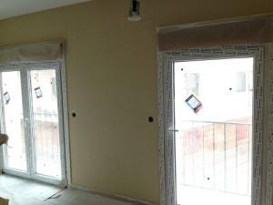 Trabajos de pintura en liso en vivienda