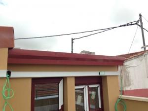 Remates en tejado