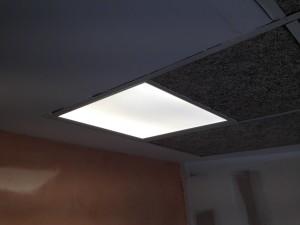Iluminación con paneles de led de #osram