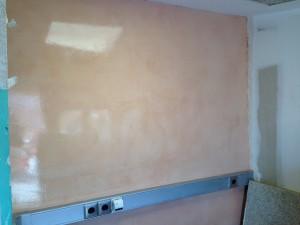 #tecnicas hm microcemento en paredes