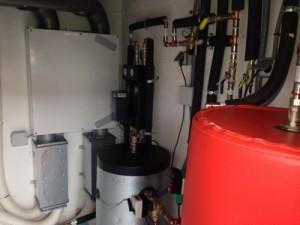 Cuarto de Acumuladores y Sistema de ventilación de #zehnder