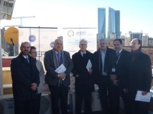 visita institucional Comunidad de Madrid, Emvs, Ayuntamiento de Madrid, Idae …